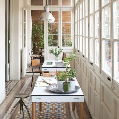Enclosed Front Porch Design Ideas Pictures Remodel And Decor Sunroom Designs Contemporary House Contemporary Home Office
