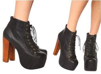 Jeffrey Campbell Lita Black Boots $141