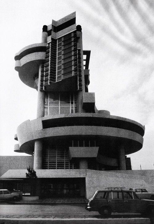 La casa del portuale napoli designed by aldo rossi 1980 for Casa design napoli