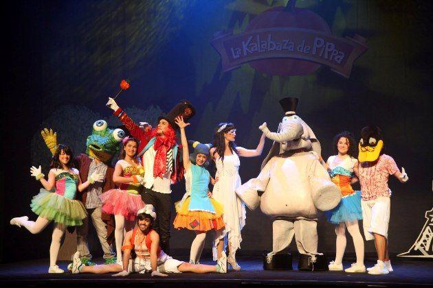 """27 de Octubre de 2012.    A las 19:30 horas en el Auditorio de Tenerife Adán Martín. Santa Cruz de Tenerife.    Llega el musical infantil """"La kalabaza de Pippa"""""""