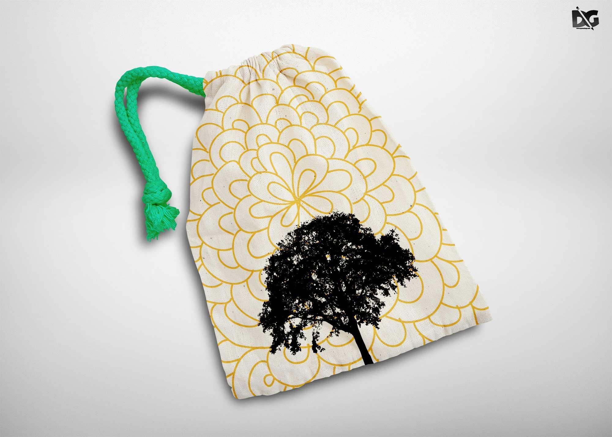 Download Free Small Earing Bag Mockup Free Logo Mockup Free Logo Psd Bag Mockup
