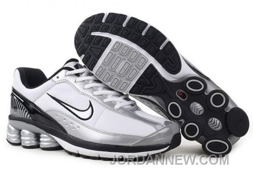 buy popular 7584e 7c0e8 Buy Men s Nike Shox Shoes White Silver Black Grey Super Deals from Reliable Men s  Nike Shox Shoes White Silver Black Grey Super Deals suppliers.