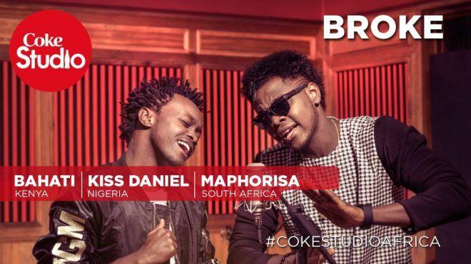 Kiss Daniel Broke ft  DJ Maphorisa & Bahati | codedex | Broken video