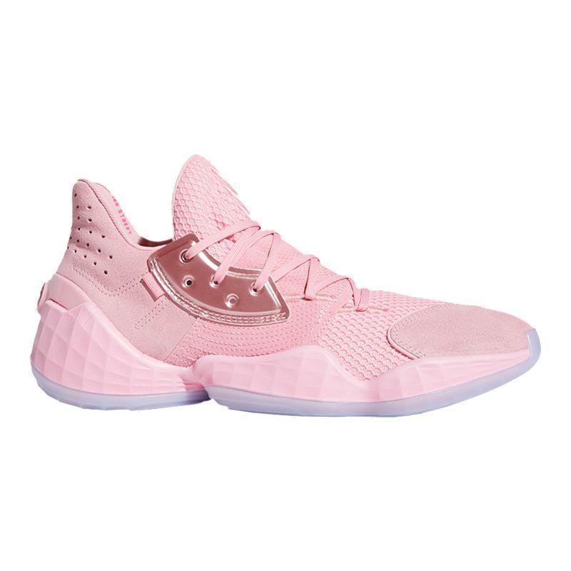 monigote de nieve segundo Adelaida  adidas Men's Harden Vol. 4 Basketball Shoes - Pink | Pink basketball shoes,  Adidas men, Basketball shoes