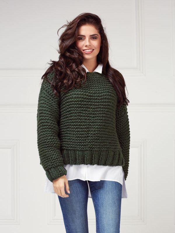 Rowan Bottle Green Collection Sweater Knitting Patterns Knitting