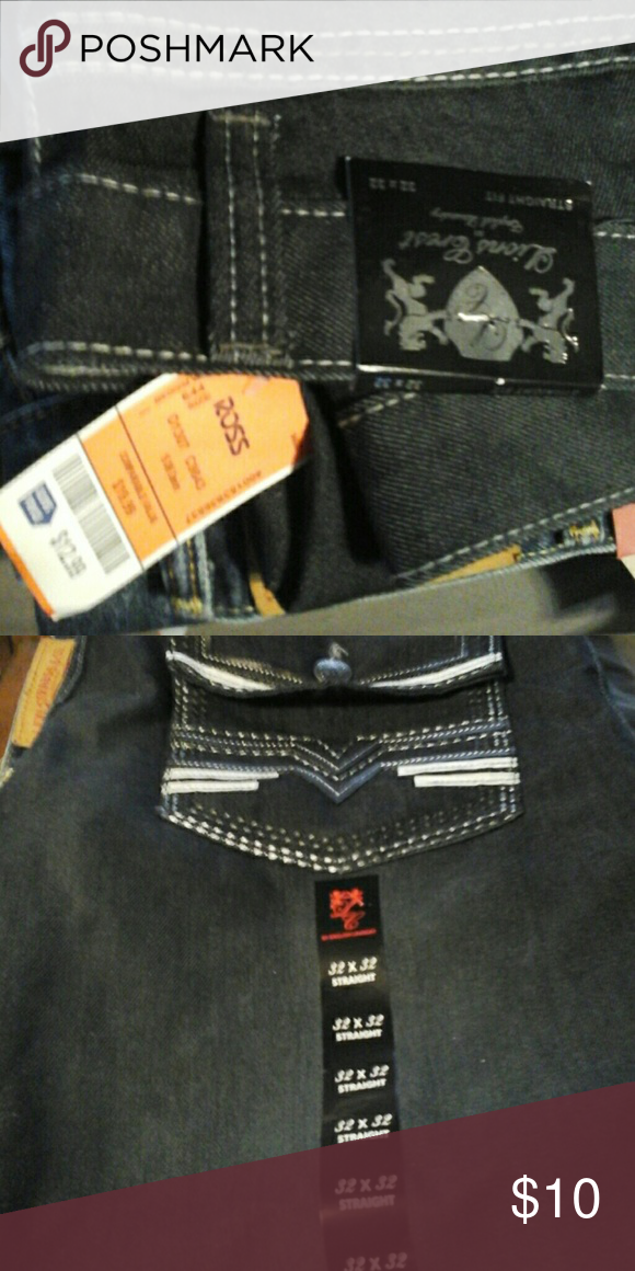 Black Jeans For Men Or Boys Lions Crest By English Laundry Never