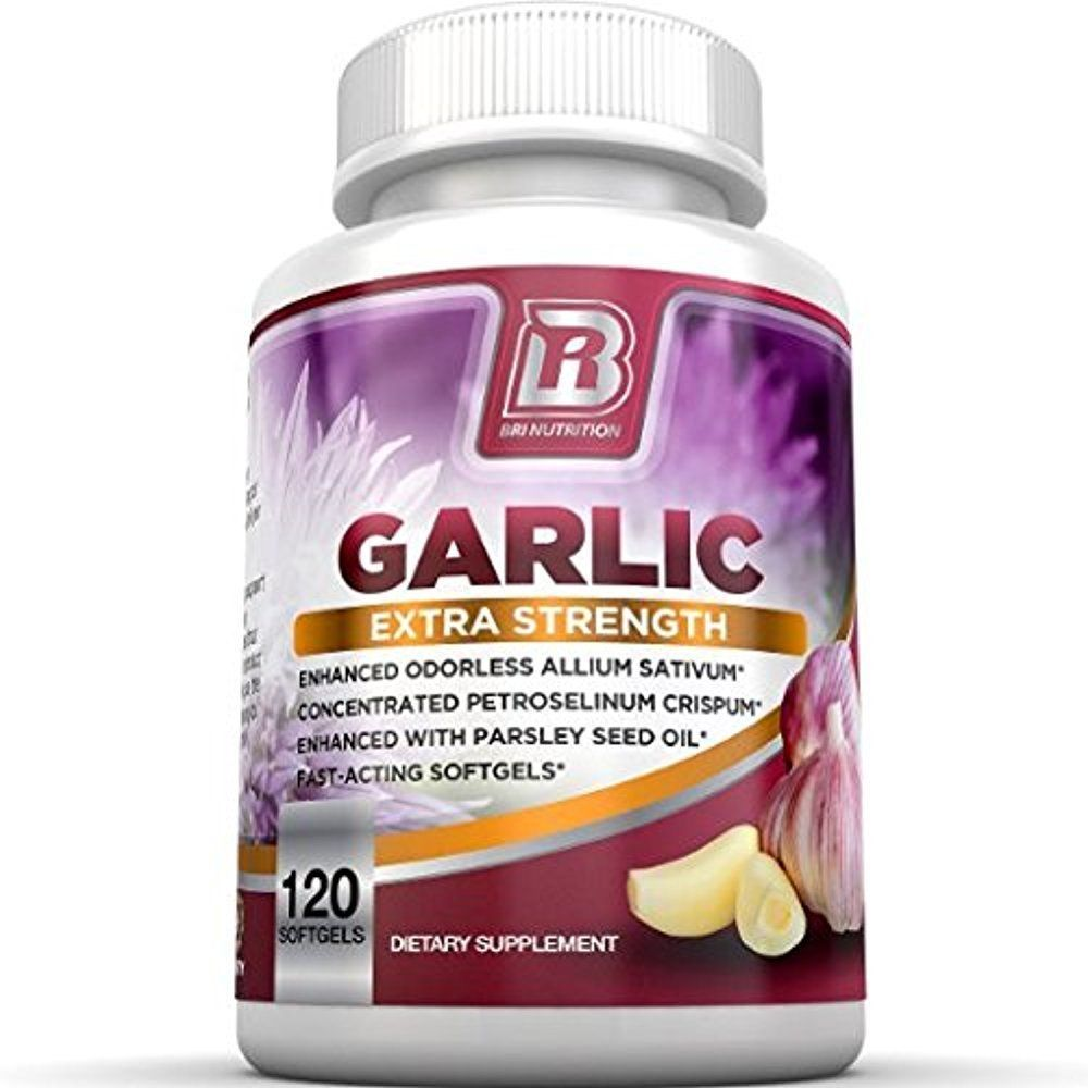 Details About BRI Garlic Pills 1000mg Pure And Potent