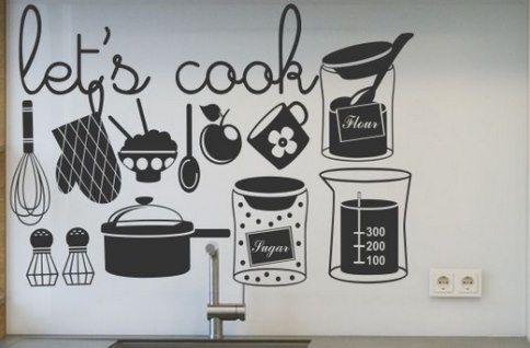 Vinilo Decorativo Utensilios De Cocina Vinilos Decorativos Cocina Vinilos Para Cocina Vinilos Para Muebles