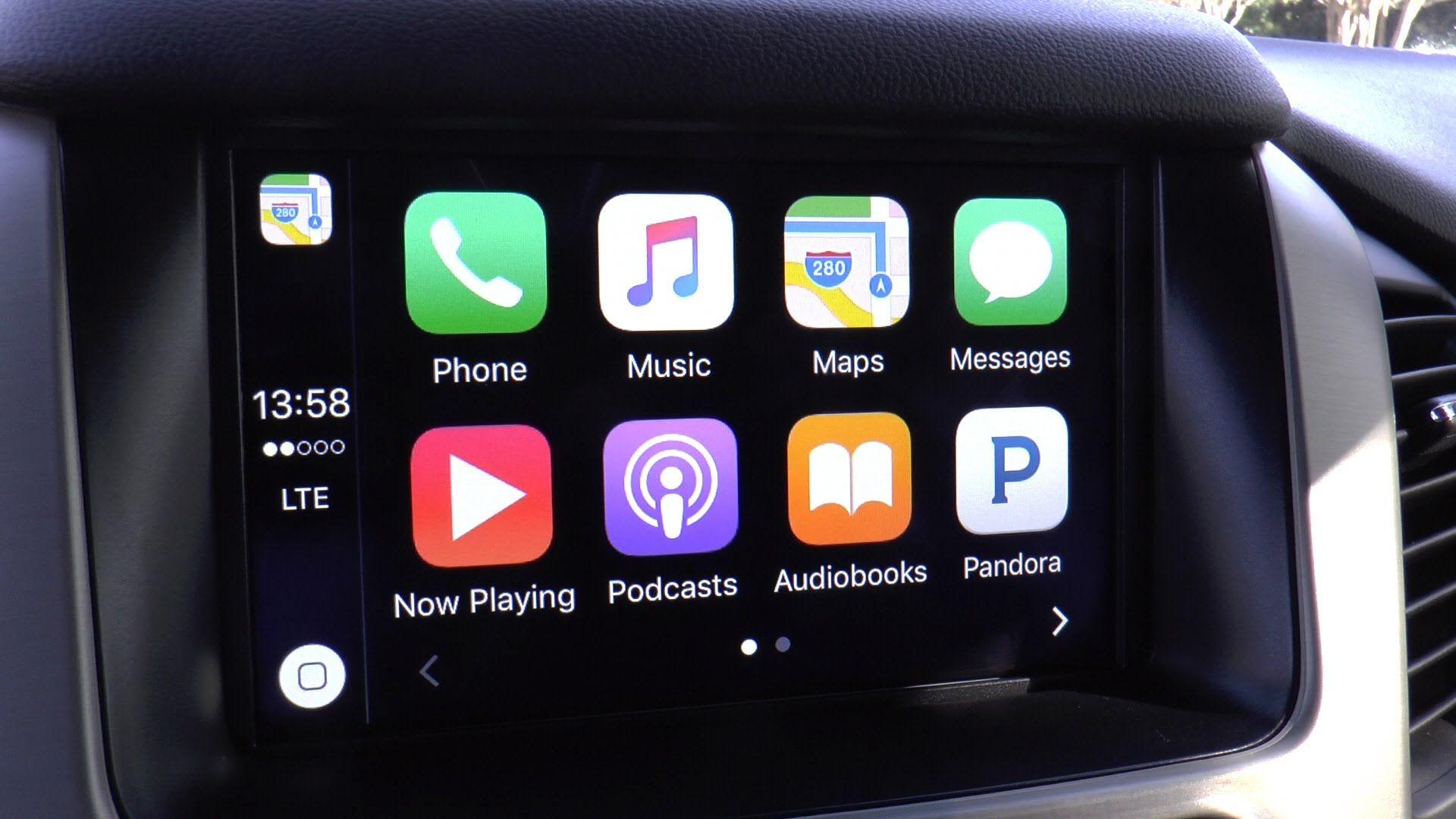 LTC GM's Apple CarPlay (2016 GMC Yukon Denali XL) (With