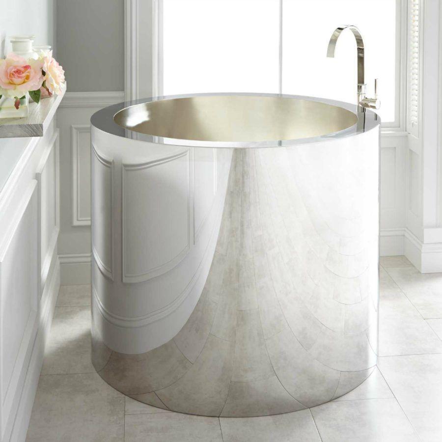 Small Bathtub Designs Made For Ultimate Relaxation In 2020 Kleine Badewanne Badewanne Badezimmer Klein
