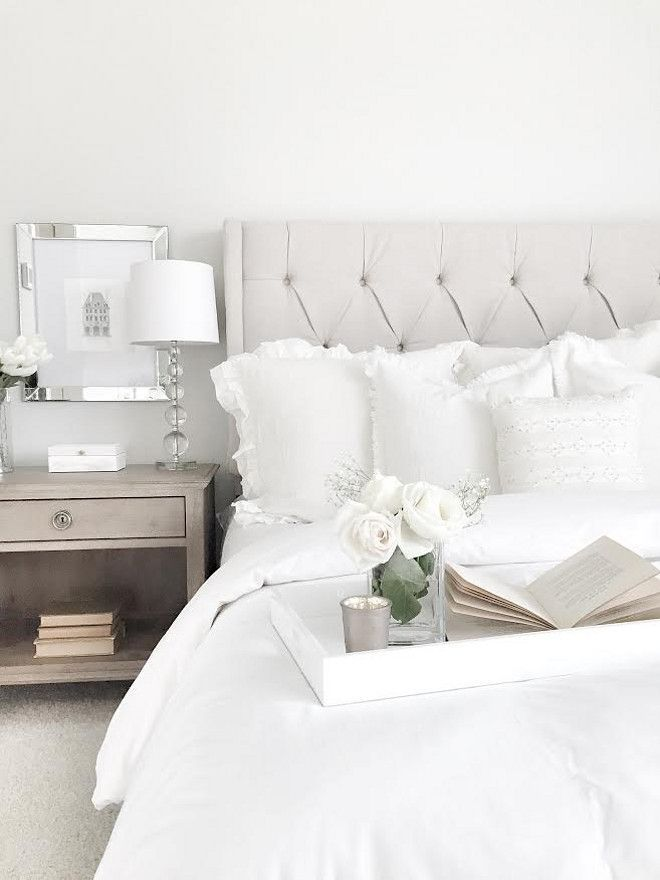How To Style Your Bedroom Like A Fancy Hotel  Night Lamps White Endearing White Bedroom Interior Design Design Inspiration