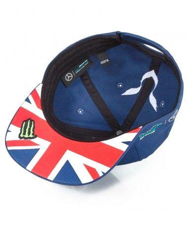 Lewis  Hamilton  Special Edition  British GP Cap. £29.99  F1  Mercedes f018a4fd196