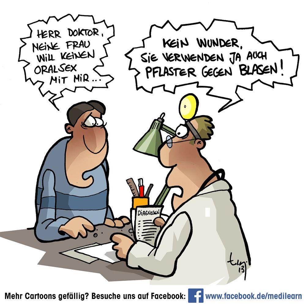 Blasen Cartoon