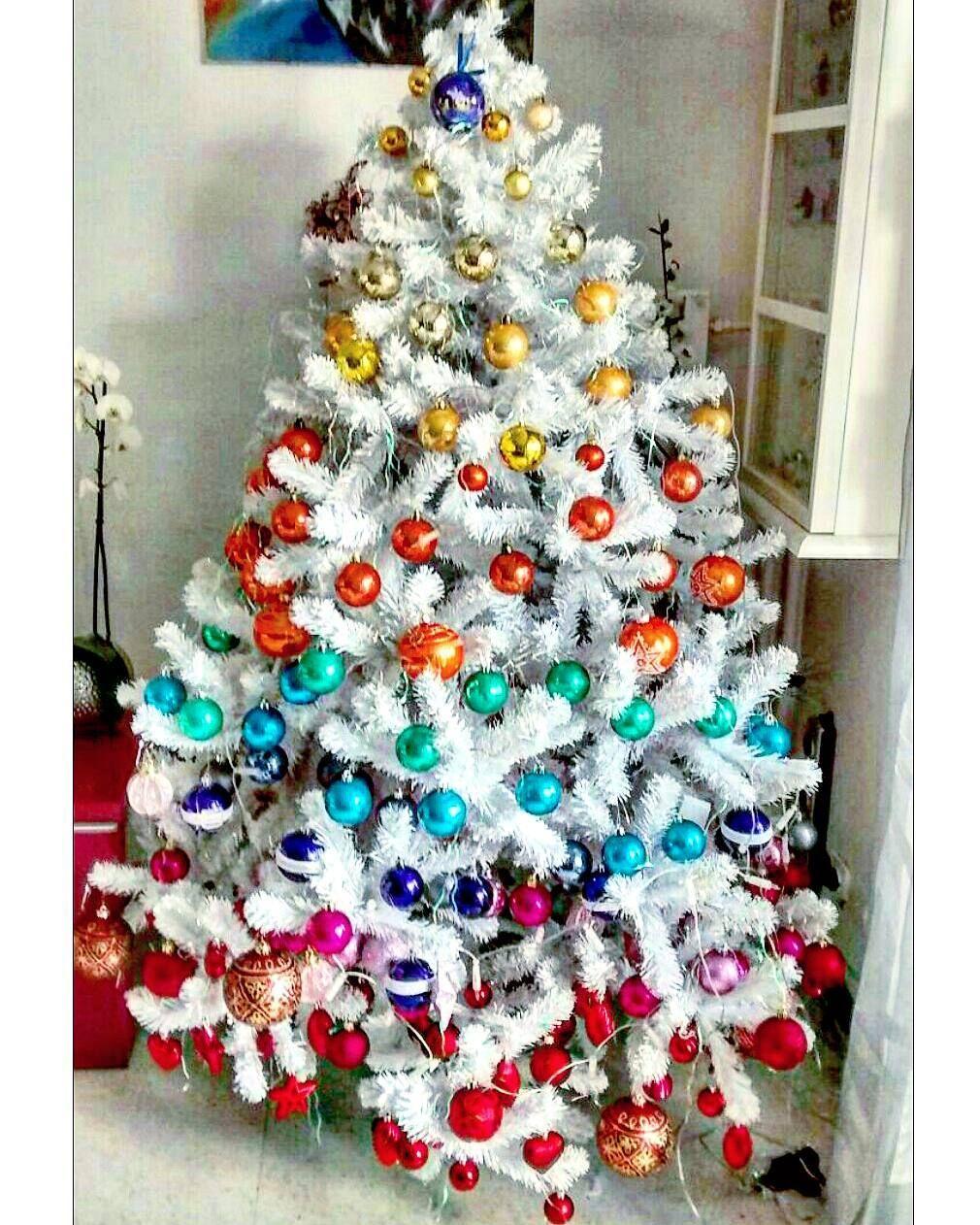 7 rainbow christmas trees that made us say wow martha stewart - Martha Stewart Christmas Trees