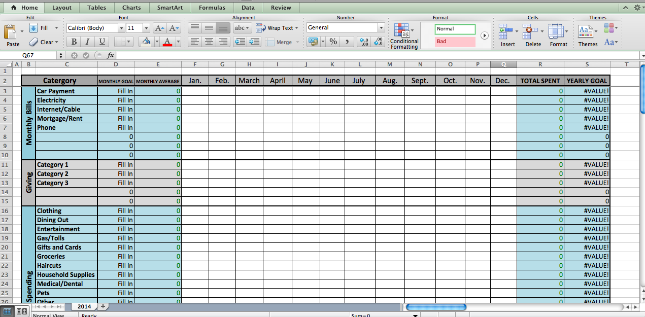 Excel Budget Template  Excel Budget Excel Budget Template And