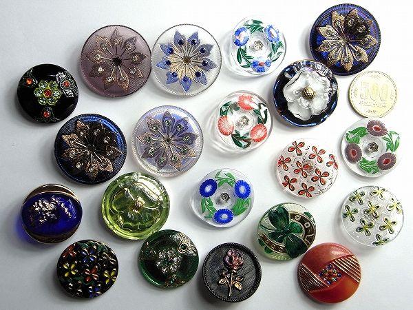 Czech: glass button