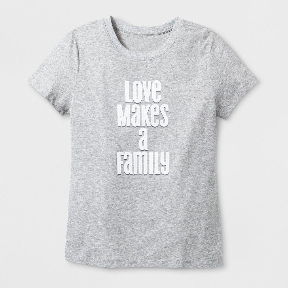 Womens Casual Short Sleeve T-shirt Create Graphic Tee Heather Grey