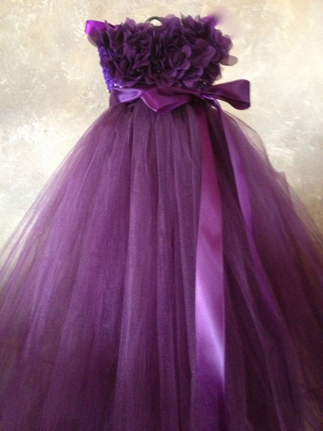 Sugar Plum Flower girl dress by TutuSweetBoutiqueINC on Etsy ...