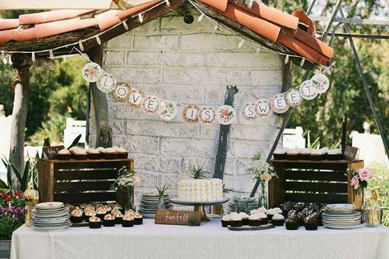 A dessert table at Leo Carrillo...  vendors venue leo carrillo ranch historic park photography we call ...