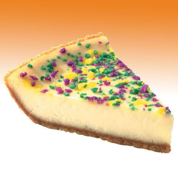 El Mardi Gras Cheesecake de Popeyes Puerto Rico...