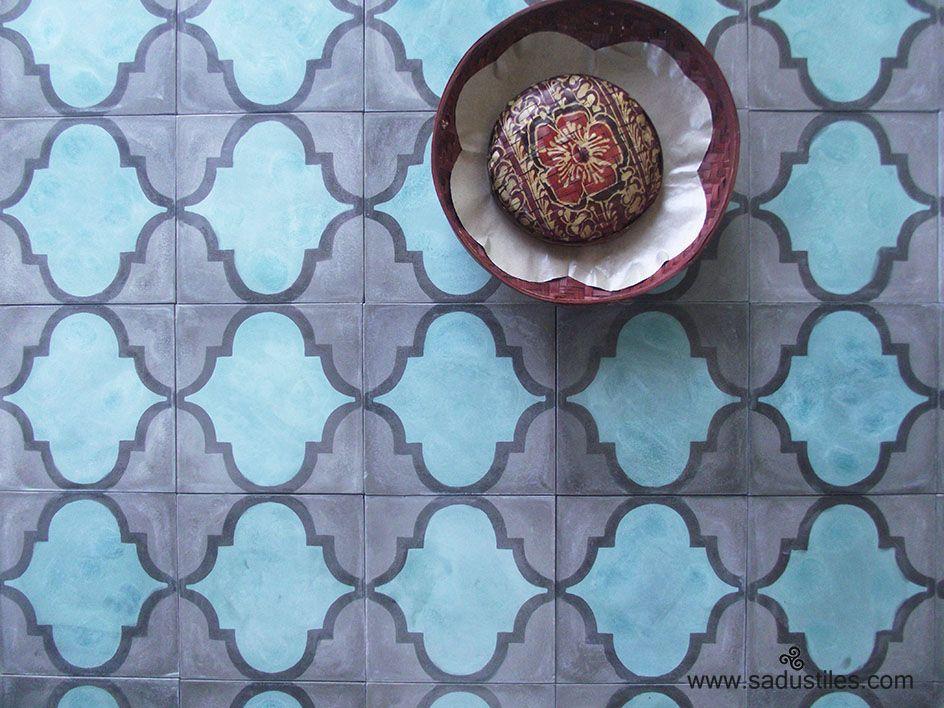 Sadus Tiles handmade cement tiles from Bali