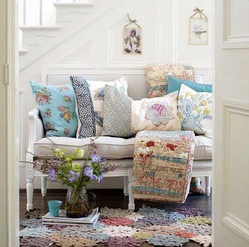 crochelinhasagulhas: Crochê na decoração