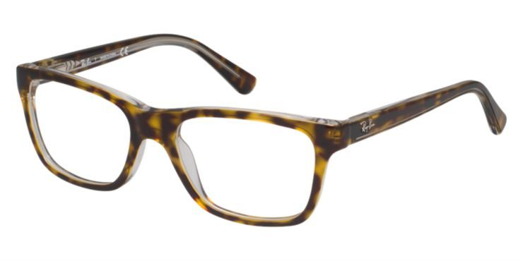 590ab7173c3 Ray-Ban Jr RY1536 Kids Brown Eyeglasses