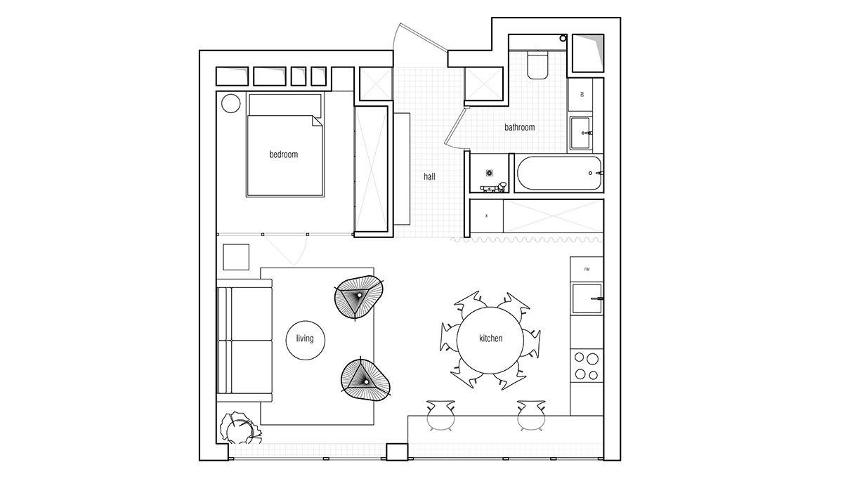 3 Fabulously Sleek Studio Apartments That Are Timeless
