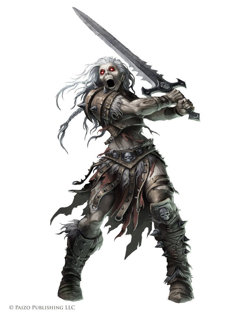Rage Wight by WillOBrien on DeviantArt, from Paizo's