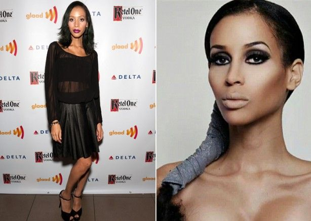 Famous Celebrity Transgender Transexual List Isis King Antm Americas Next Top Model Black Sheer American Apparel Feature Tyra