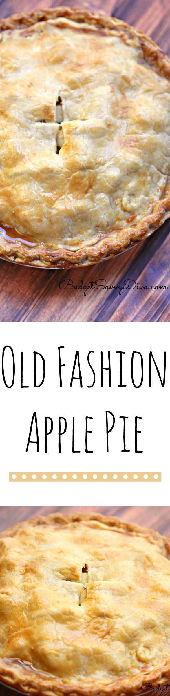 Apple Pie Recipe #LoveAmericanHome | Recipe | Food | Apple ...