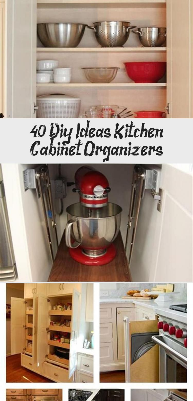 40 diy ideas kitchen cabinet organizers ktchn on clever ideas for diy kitchen cabinet organization tips for organizers id=89641