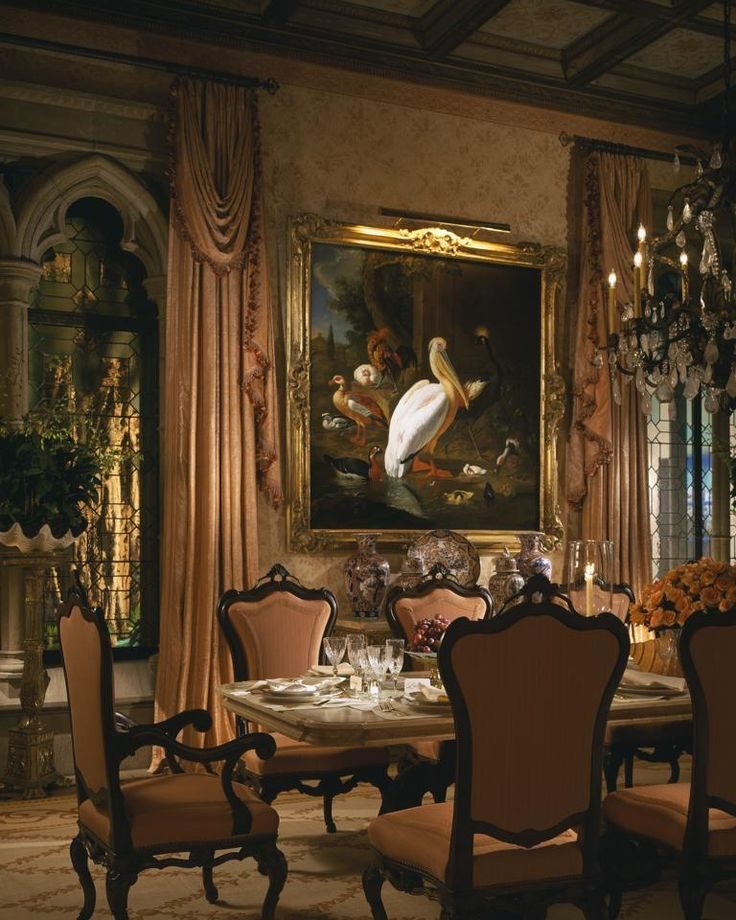 Anime Royal Dining Room: Antique Dining Room Furniture A Royal Touch Of Beauty From