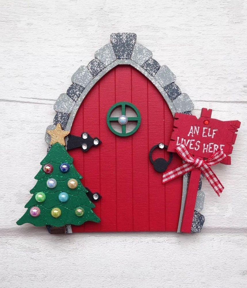 Fairy door set stone garden ornament  /</<Visit my shop/>/>