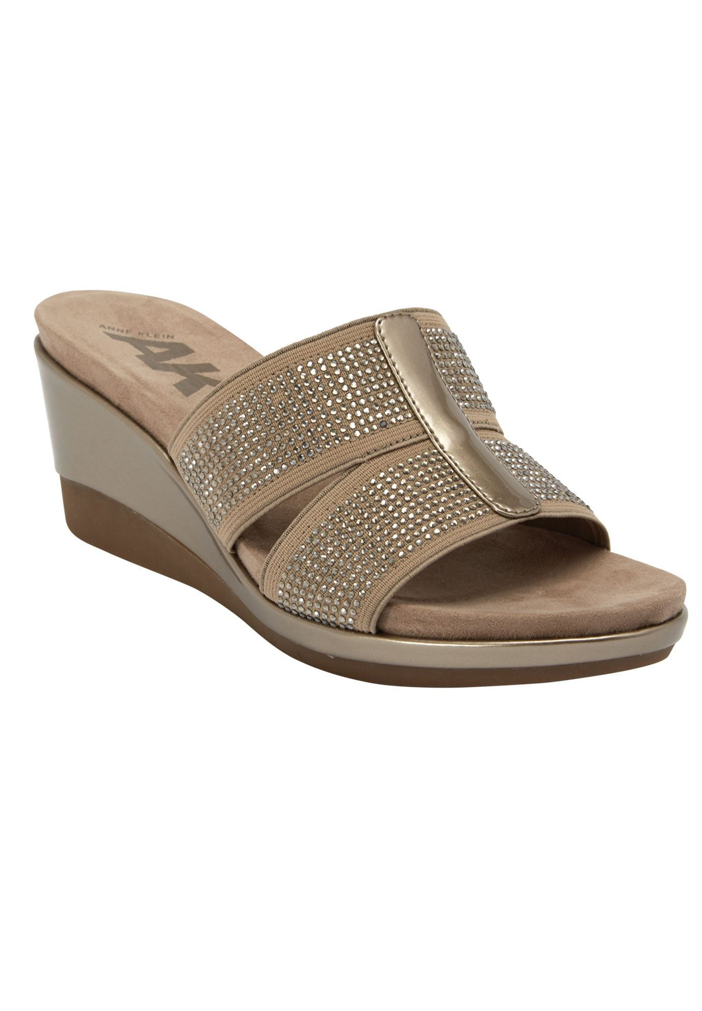f7762b576a9f Pallace Wedge Sandals by Anne Klein - Women s Plus Size Clothing ...
