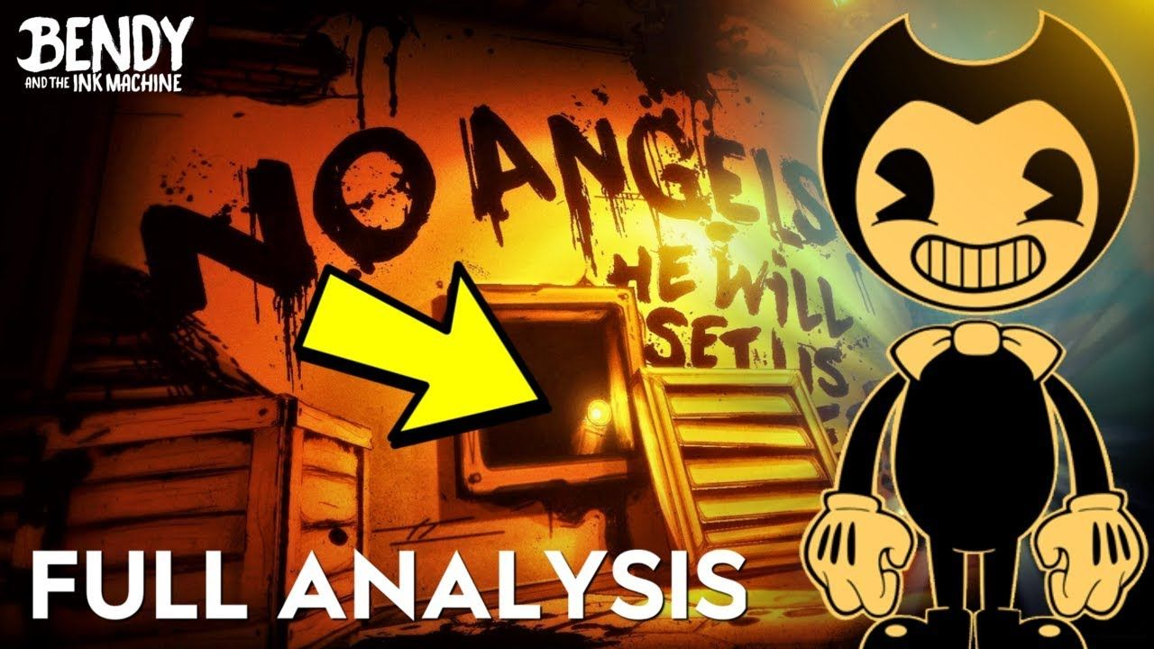 NEW BATIM CHAPTER 4 TEASER ANALYSIS! (Bendy & the Ink ...