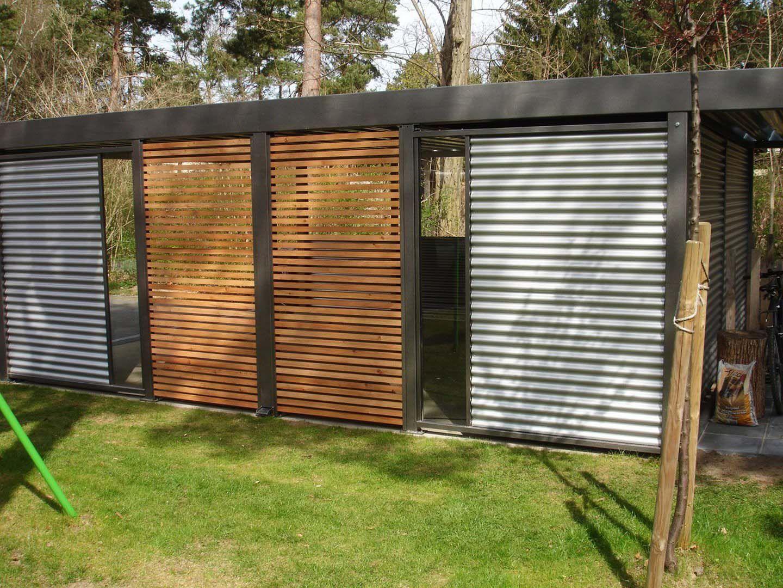 Design Metall Carport Aus Holz Stahl Blech Potsdam