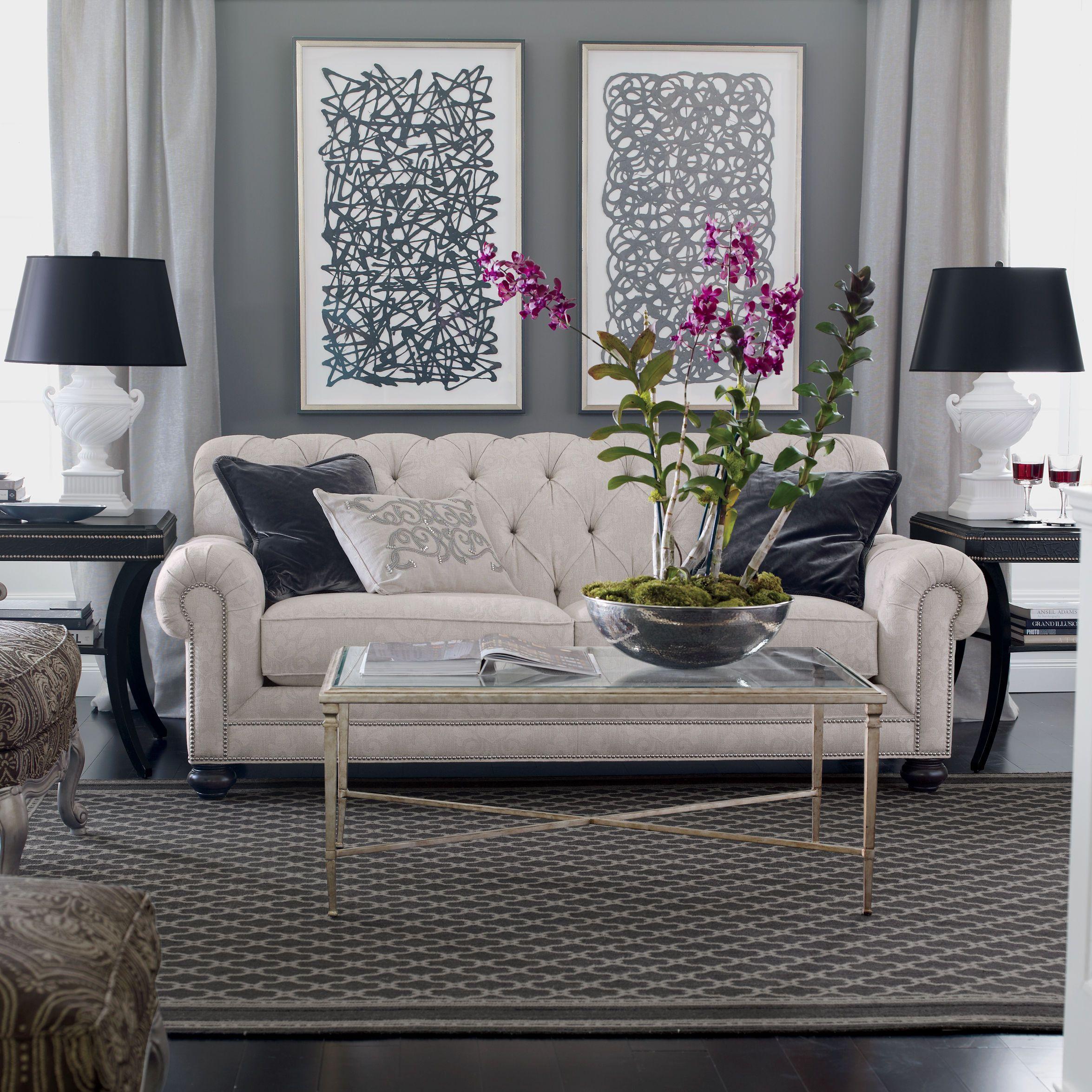 Chadwick sofa ethan allen lincoln ave living room pinterest