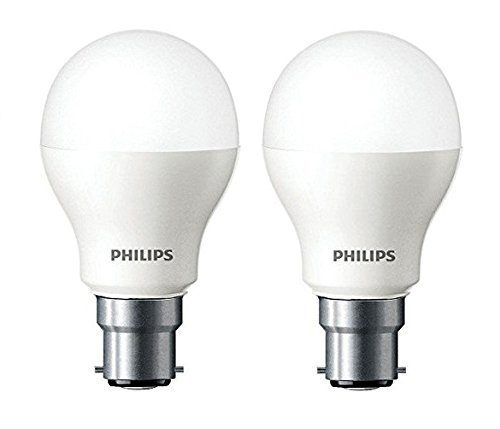 Philips Base B22 7 Watt Led Bulb Cool Day Light Pack Of 2 At Rs 199 From Amazon Led Bulb Philips Led Bulb