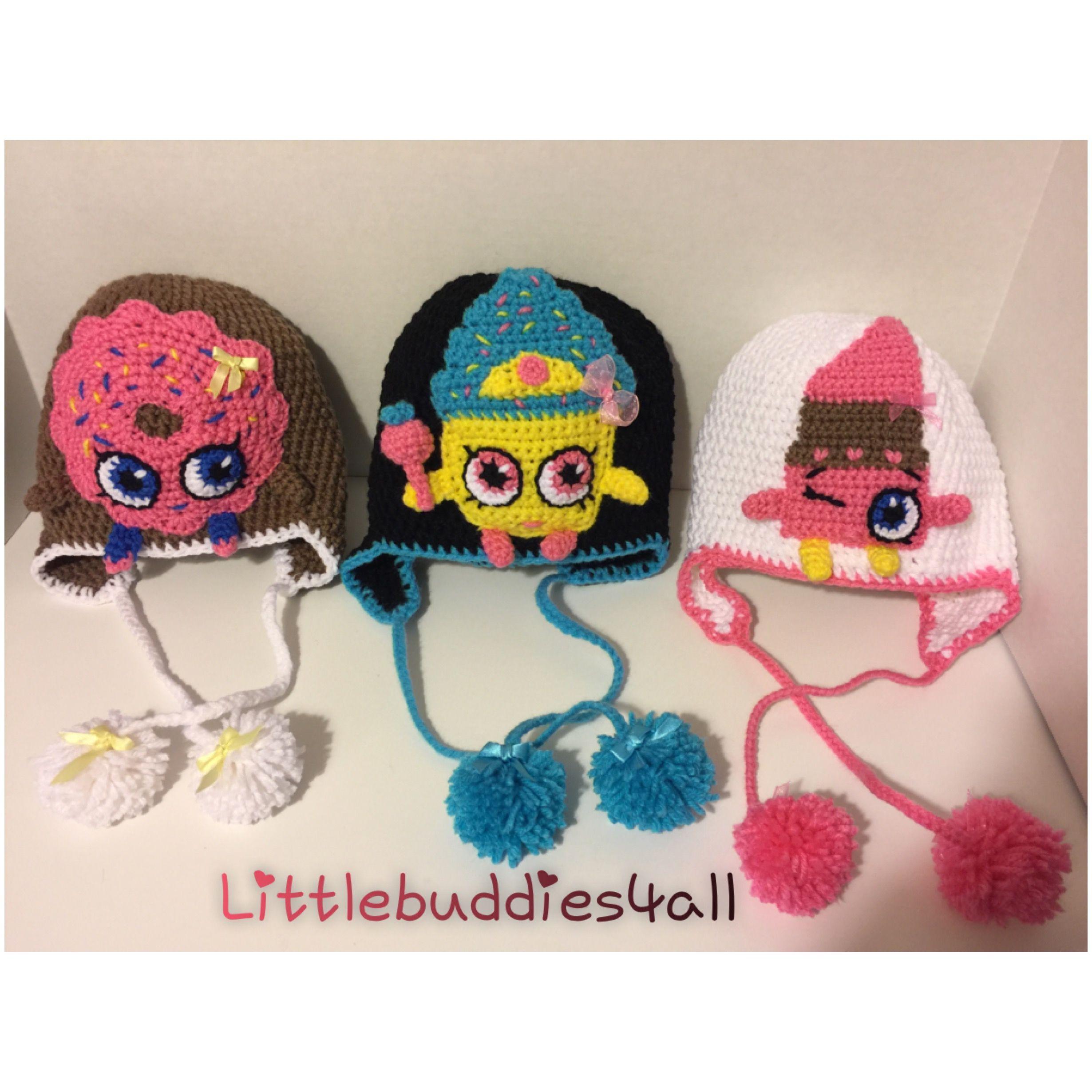 Shopkin crochet hats lippy lip queen cupcake and donut shopkin crochet hats lippy lip queen cupcake and donut littlebuddies4all bankloansurffo Images