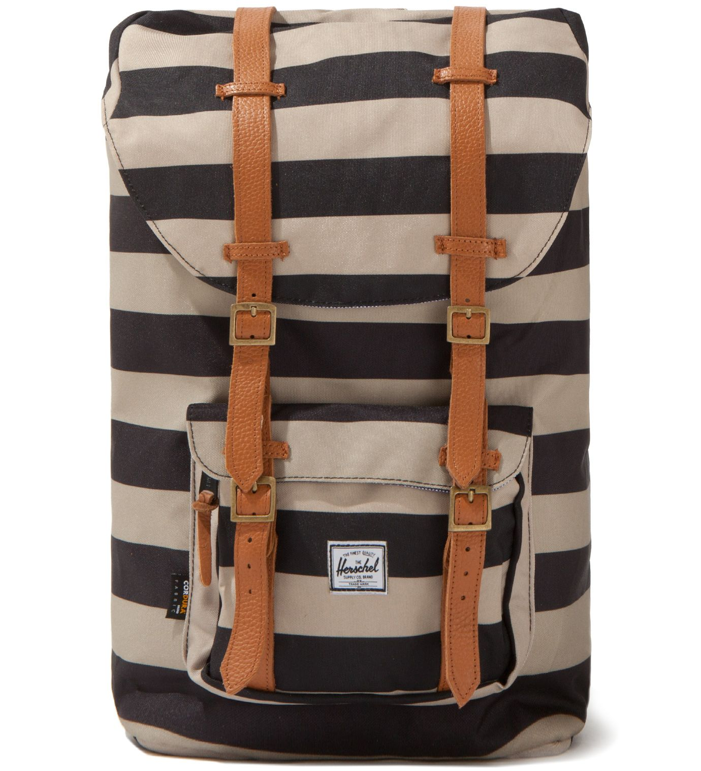309349c8324 Herschel Black Taupe Little America Backpack. I like these colors and  patterns tomorrow
