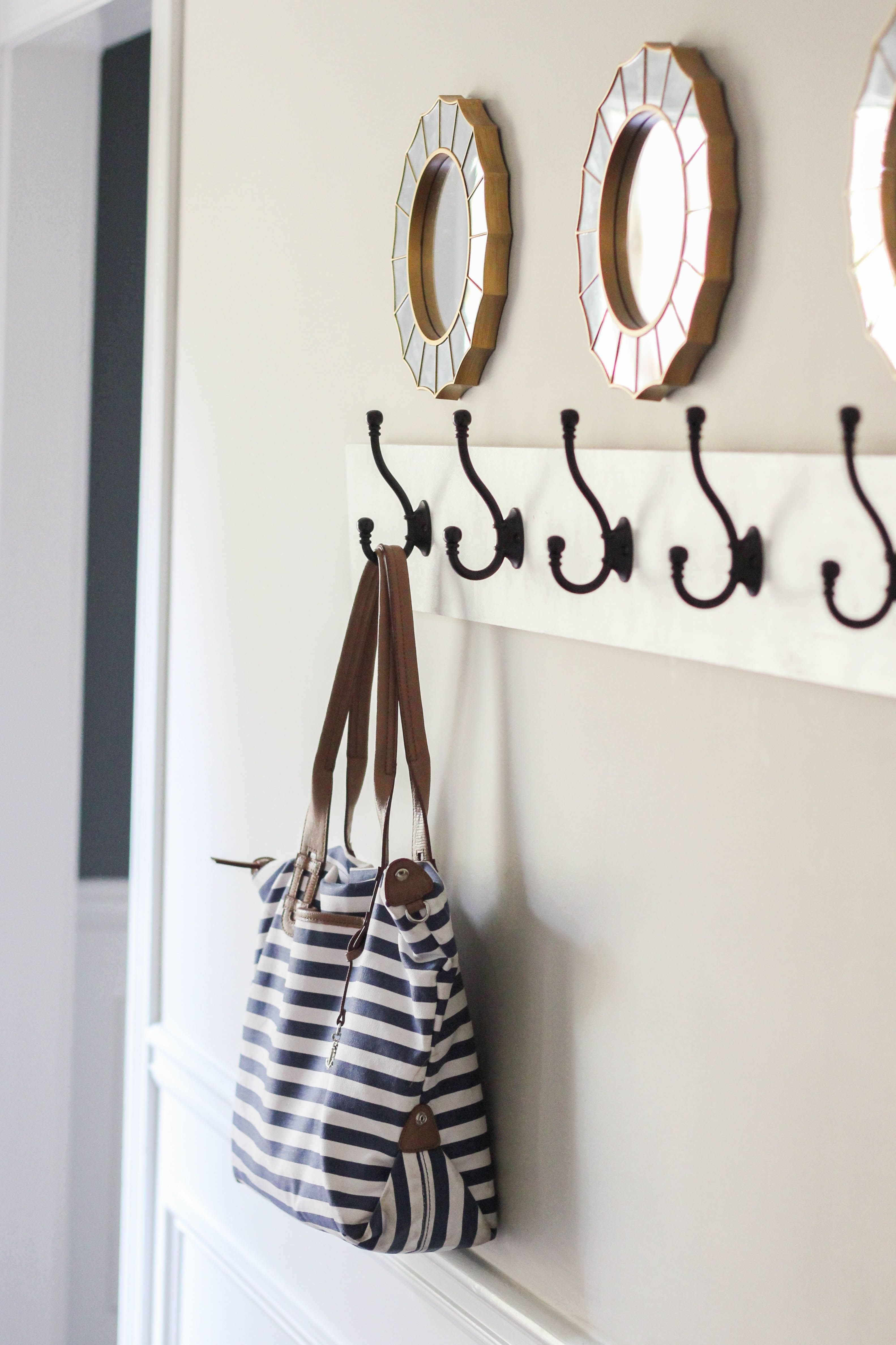 How to build a wall mounted coat rack erin spain coat
