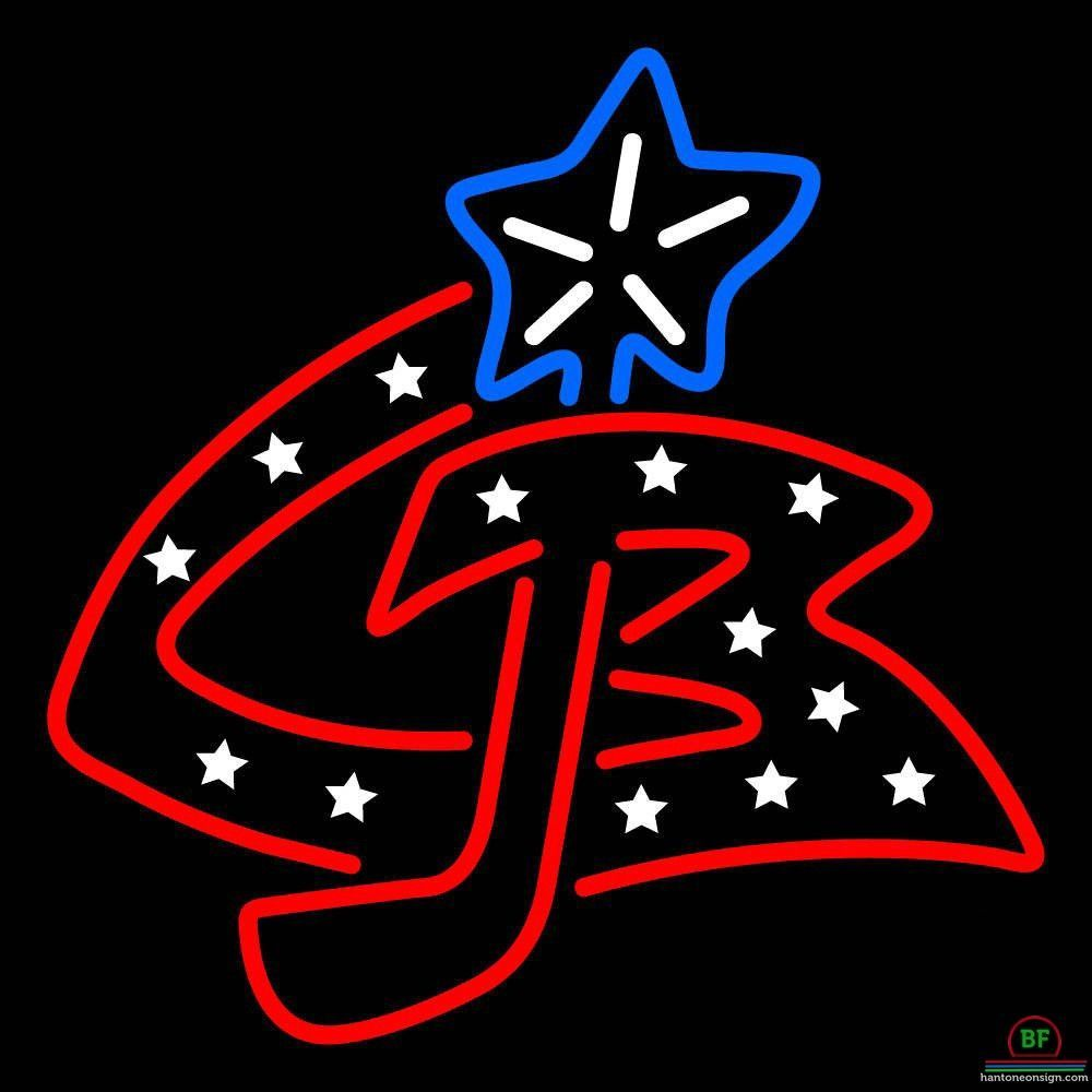 Columbus Blue Jackets Neon Sign NHL Teams Neon Light