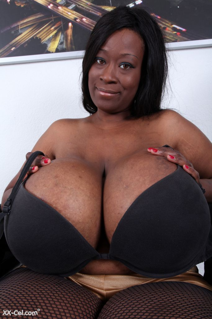 Black women with very big breast same, infinitely