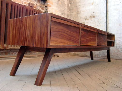 Ali Sandifer Studio Gallery Studio Credenza and Mid century