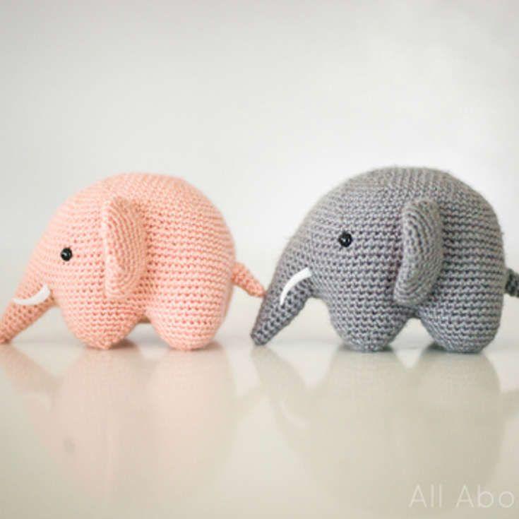 Free Elephant Amigurumi Crochet Pattern http://wixxl.com/free ...