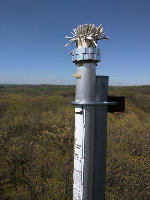 Antron 99 After A Lightning Strike Ham Radio Antenna