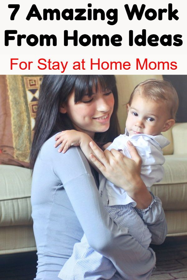 7 Work From Home Ideas For Stay at Home Moms | Working ...