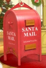 Santa Mailbox Diy Google Search Santa Mailbox Christmas Decor