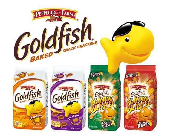 image relating to Goldfish Printable Coupons referred to as Fresh new Goldfish Crackers Coupon \u003d 68¢ a Bag at Publix brax